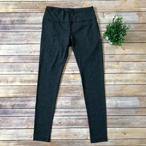 90 Degree by Reflex Charcoal Solid Leggings